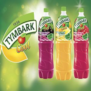 Noul Tymbark Cool 2l cu fructe si menta